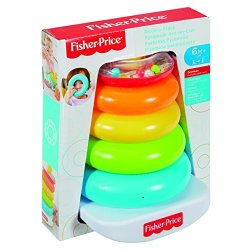 Fisher Price FHC92 - Nuova Piramide 5 Anelli