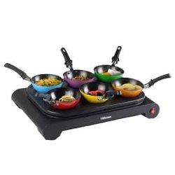 TRISTAR BP-2827 - Wok set 6 pentole wok colorate...
