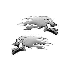 3D15031 - Emblema 3D cromato, Badge sticker, per...