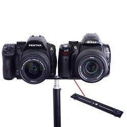 Neewer 20,3 cm, doppia fotocamera, supporto per...