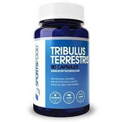 Tribulus Terrestris 1000mg x 90 Capsules, 95%...