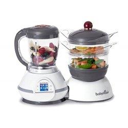 Babymoov Nutribaby Robot da cucina cuocipappa e...