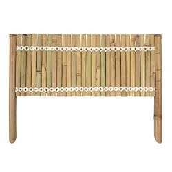 Verdemax 3430 Pannello in bamboo per bordura, 50...