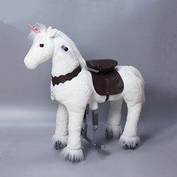 UFREE Medio Action Pony, Pony da montare, Cavallo...