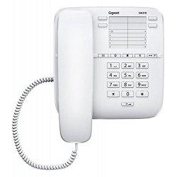 Gigaset DA310 Telefono Analogico, Bianco