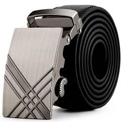 Vovotrade Cintura Uomini Leather automatico...