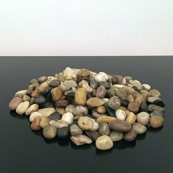 1kg New Assorted Browns Natural Stones Pebbles...