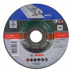 Bosch 2609256333 Mola Taglio Metallo, 125 x 22.23...