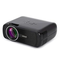 Mini Proiettore LESHP LED Proiettore Video...