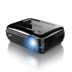 LESHP Proiettore LCD - 3300 Lumen, 1280*800,...