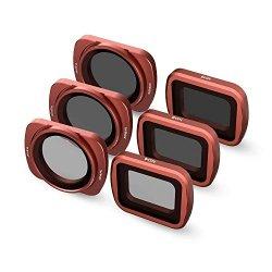 SKYREAT 6-Pack Set di filtri ND per obiettivo...