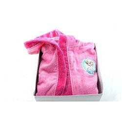 Disney Frozen Accappatoio bambina rosa spugna 6/7...