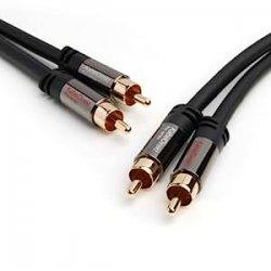 KabelDirekt Cavo RCA Stereo/Cavo Audio 2...