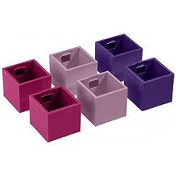 Kalamitica Set da 6 Cubi Portavaso Magnetico,...