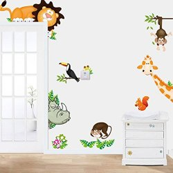 tongshi 2015 Jungle animali Bambini Nursery...