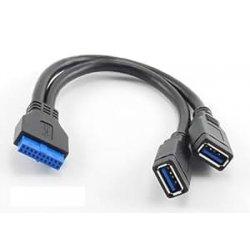 TRIXES Connettore interno USB 3,0 in grado di...