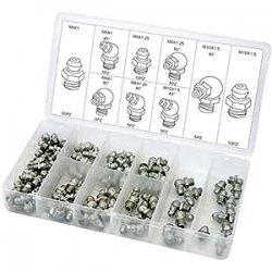 Sourcingmap a14060900ux0804-100 pezzi in acciaio 12,9 lega zigrinata tappo a vite a brugola kit di bulloni 2 x 10