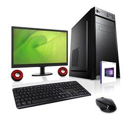 PC DESKTOP COMPUTER FISSO CON MONITOR 19