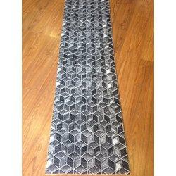 Tappeto cucina a metraggio PVC largo 55 cm grigio...