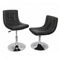 Ts-Ideen 6515 - Poltroncine lounge, colore Nero