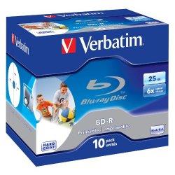 Verbatim BD-R 25GB Printable Blu-ray registrabile...
