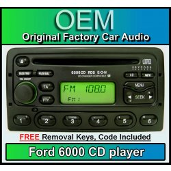 Ford Galaxy CD player, Ford 6000 car stereo with...