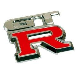 3D07230 - Emblema 3D cromato rosso, Badge...