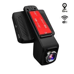 TOGUARD Telecamera per Auto GPS WiFi, Auto Dash...