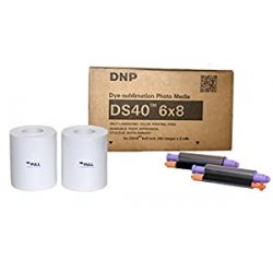 DNP DS 40 Media DS 15x20 cm 2x 200 stampe