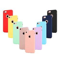 9 × Custodia iphone 6 Cover Silicone , Leathlux...
