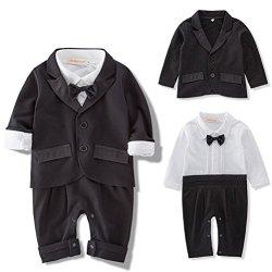 ARAUS Neonato Gentleman Pagliaccetto Suits...