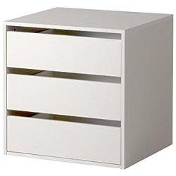 Cassettiera interna armadio 3 cassetti accessorio...