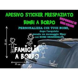 STICKER STICKERS ADESIVI ADESIVO MACCHINA AUTO...