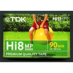 TDK P 5 - 90 HI8 MP Video cassette - Confezione...