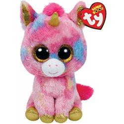 Fantasia - Unicorno multicolore peluche, 15cm...