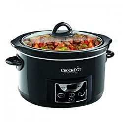 Crock-Pot - Slow cooker con timer digitale, 4,7...