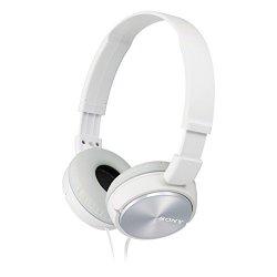 Sony MDR-ZX310AP Cuffie con Microfono, Bianco