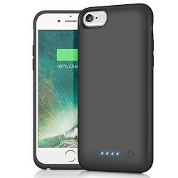 HETP Cover Batteria iPhone 6/6s/7/8, 6000 mAh...