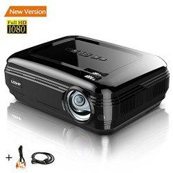 Proiettore 1080P HD 3200LM LCD - LESHP Cinema...