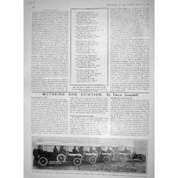 Una Stampa Antica di Trasporto 1910 di...