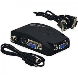 Video Convertitore e Adattatore da AV / S-Video,...