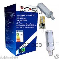 V-Tac LAMPADINE LED G24 G9 GX53 G4 AR111 da 1.2W...