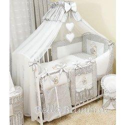 10p BabyBeddingSet /Bumper/Canopy...