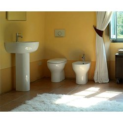 Sanitari bagno vaso a terra,bidet,lavabo con...