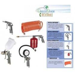 Kit di accessori per compressore 5 pz attacco...