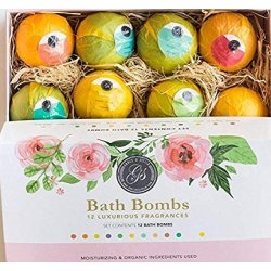 *NUOVO* Bombe da Bagno set regalo 12 x 120g...