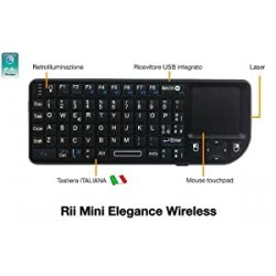 Rii Mini Elegance Wireless (layout ITALIANO) -...