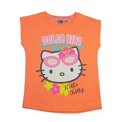 Hello Kitty Official-Maglietta da ragazza a...