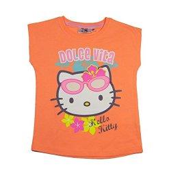 Hello Kitty Official-Maglietta da ragazza a...