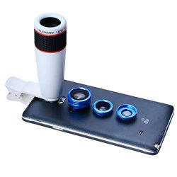 Apexel 4 In 1 Fotocamera Lente 12X Per...